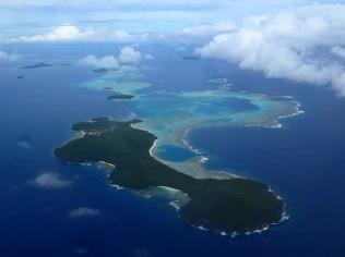 Vava'u island panorama