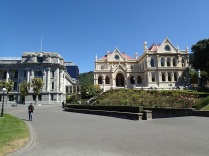 Parliament house and parliamentary library