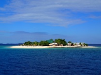 Beachcomber Island in the Mamanuka group of islands
