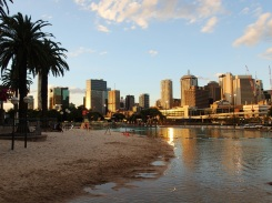 Brisbane city beach