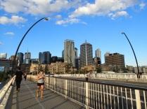 Brisbane South Bank skyline