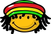 rasta smiley