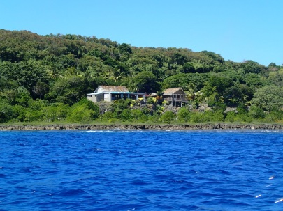Rocky Ridge Bungalows from the water