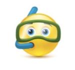 snorkel smiley