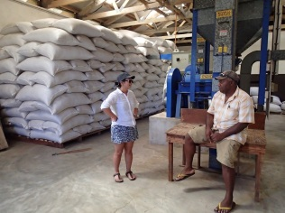 "With a big ""Tanna Coffee Factory"" sign up the road we expected a bit more than this warehouse"