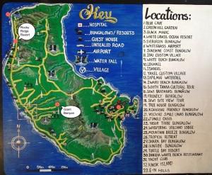 Tanna Island Map
