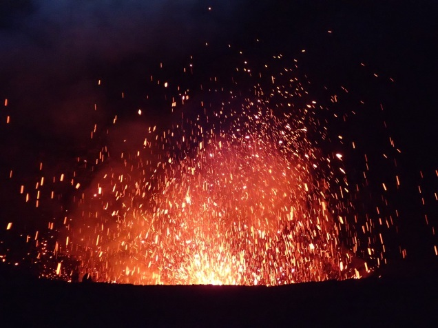 Yasur fireworks