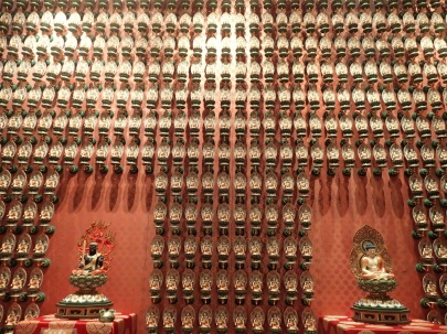 wall of 10.000 buddhas