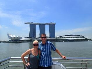 Marina Bay Sands with us :-)