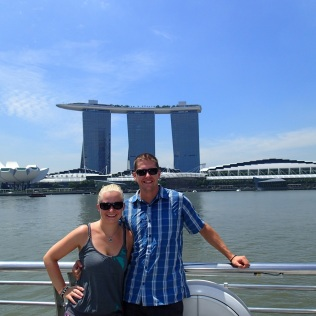 Marina Bay Sands with us :-)