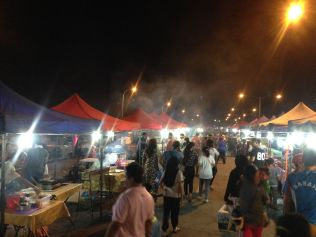 Sandakan night market